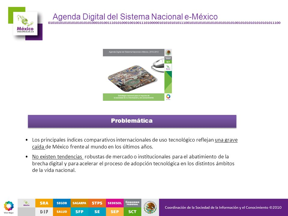 Agenda Digital del Sistema Nacional e-México