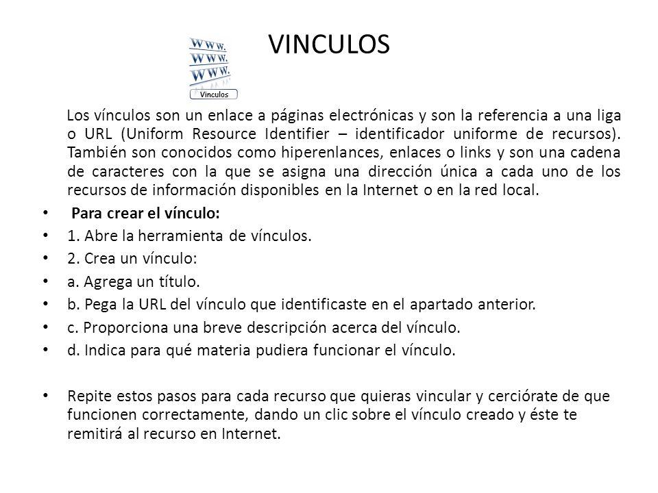 VINCULOS