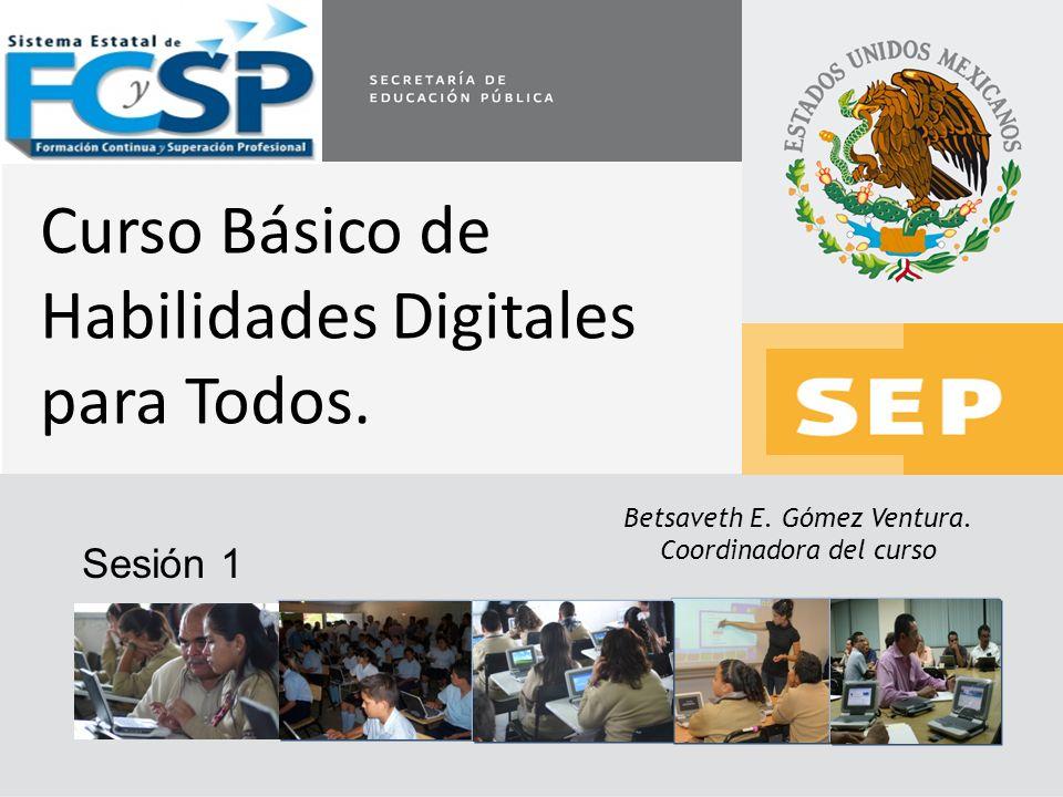 Curso Básico de Habilidades Digitales para Todos.