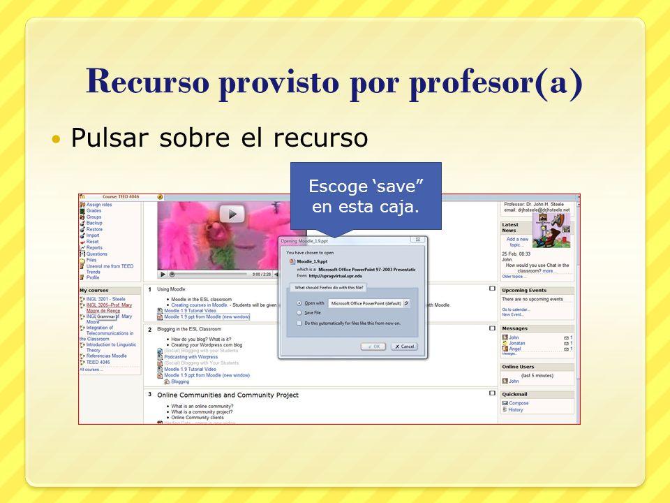 Recurso provisto por profesor(a)