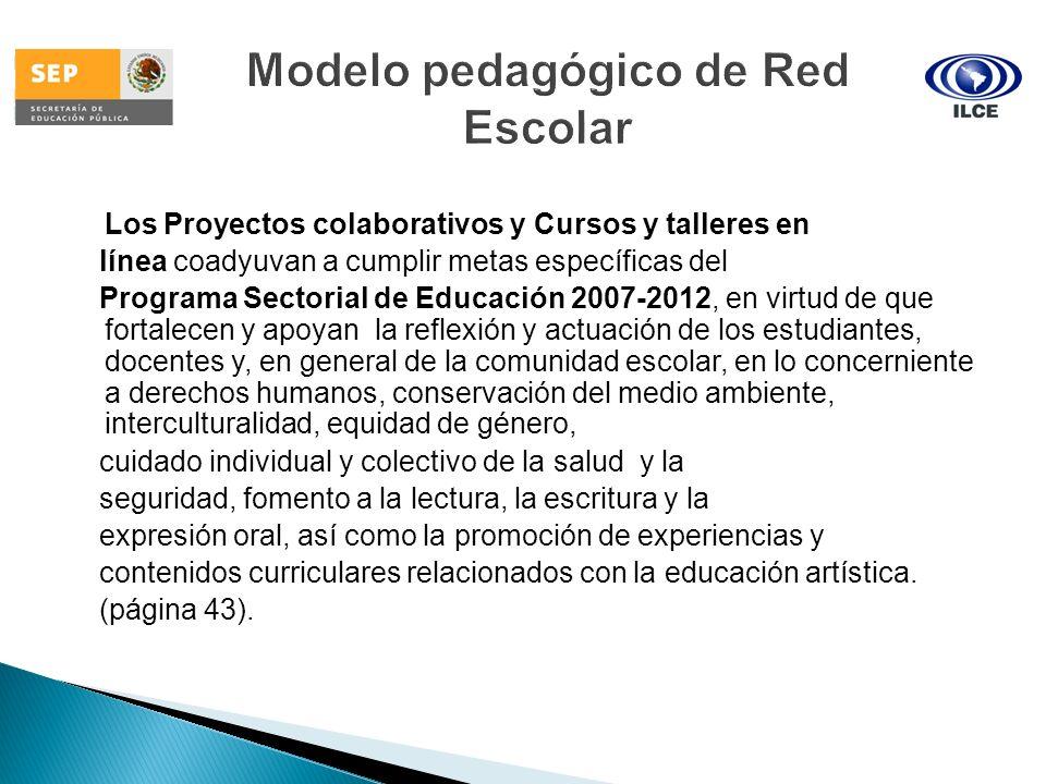 Modelo pedagógico de Red Escolar