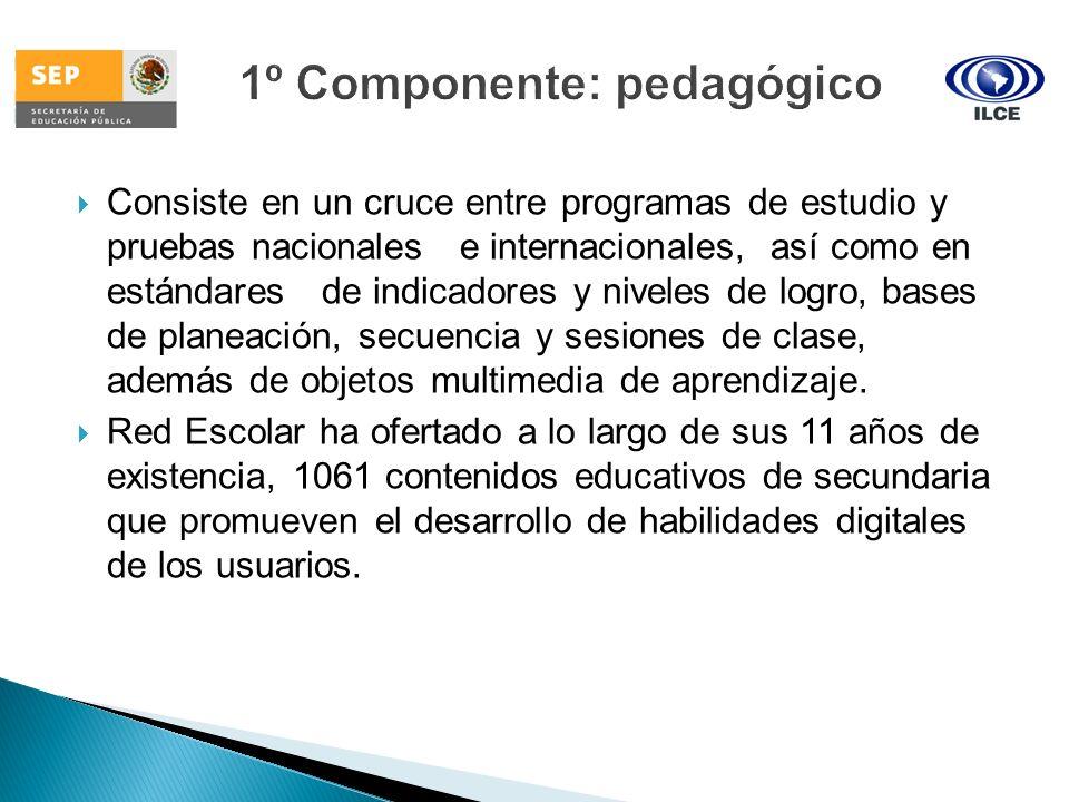 1º Componente: pedagógico