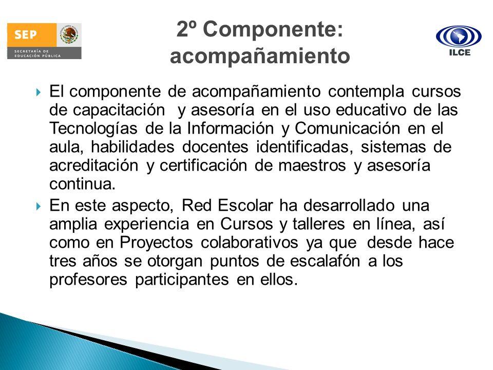 2º Componente: acompañamiento