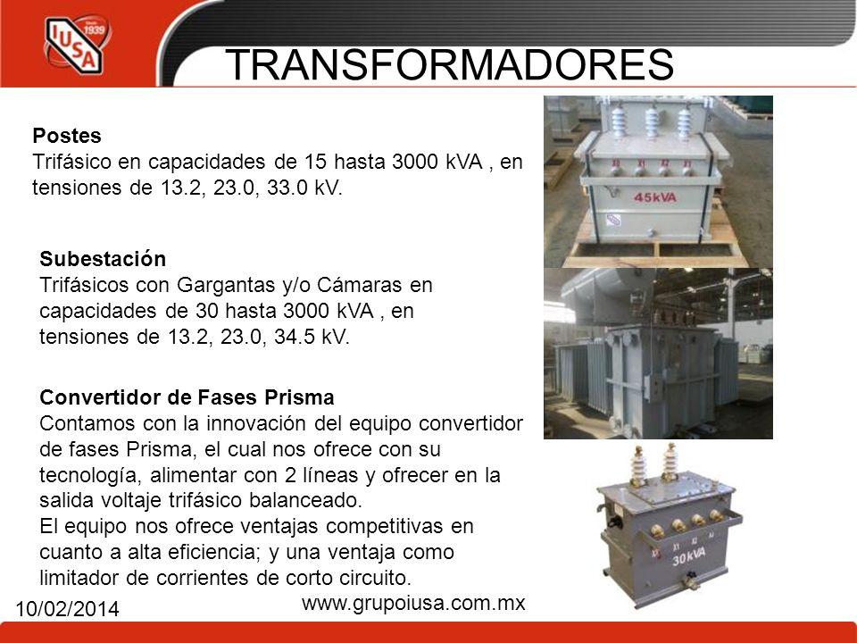 TRANSFORMADORES Postes
