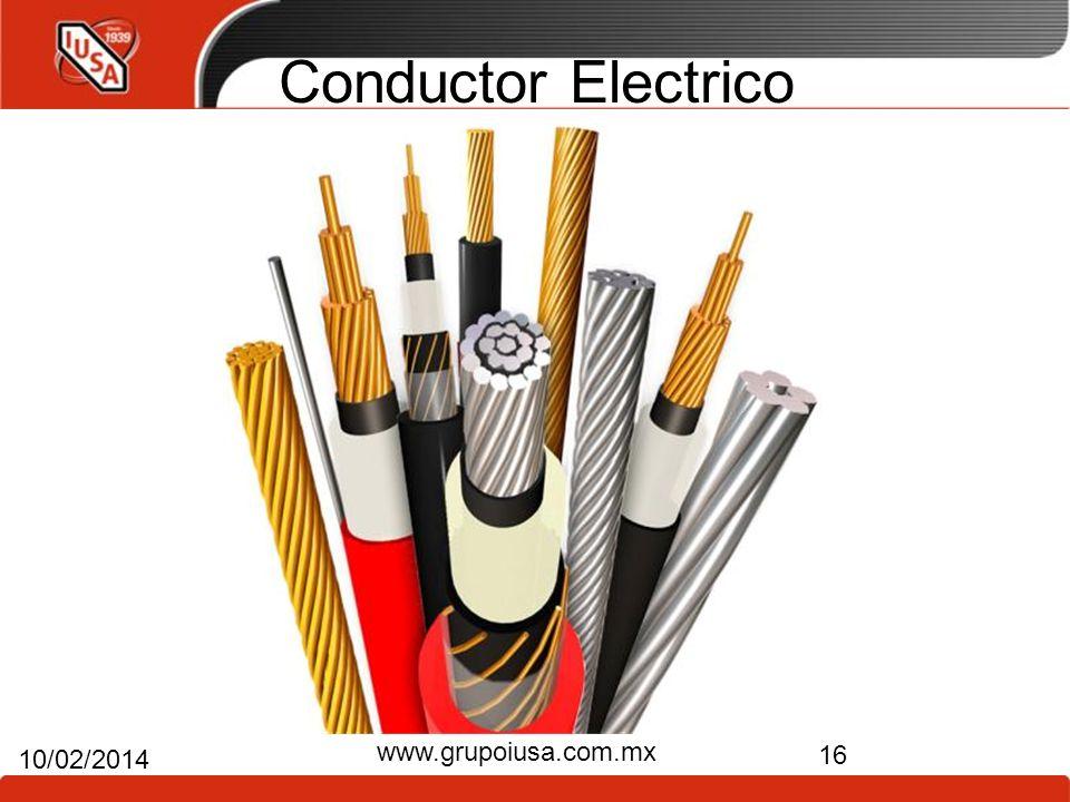 Conductor Electrico www.grupoiusa.com.mx 24/03/2017