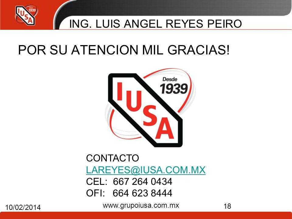 ING. LUIS ANGEL REYES PEIRO