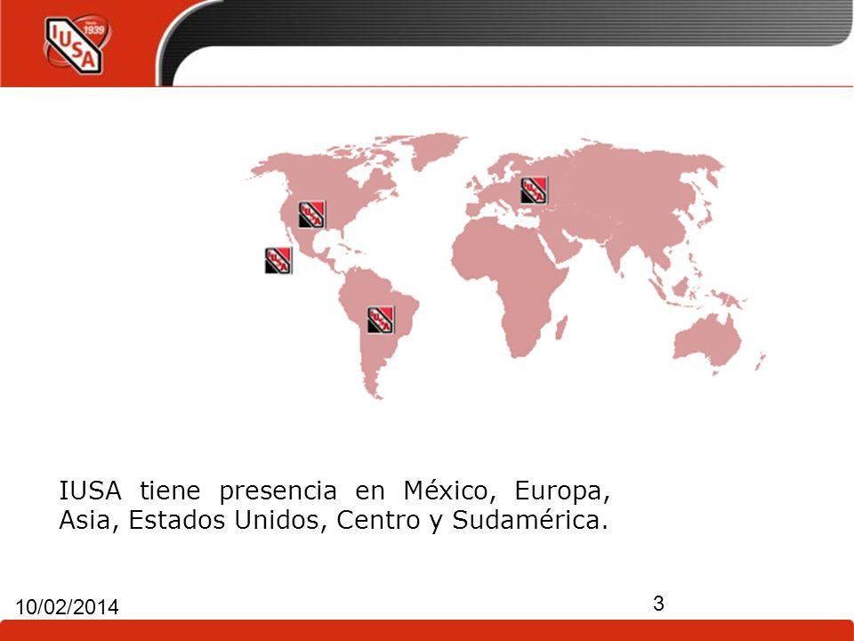 IUSA tiene presencia en México, Europa, Asia, Estados Unidos, Centro y Sudamérica.