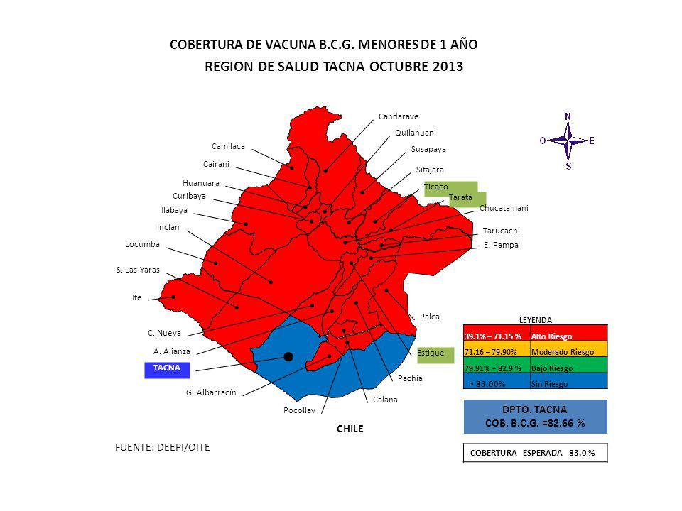 REGION DE SALUD TACNA OCTUBRE 2013