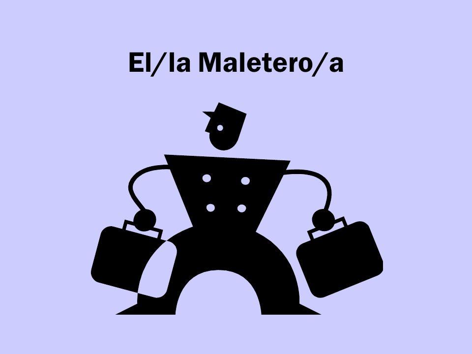 El/la Maletero/a