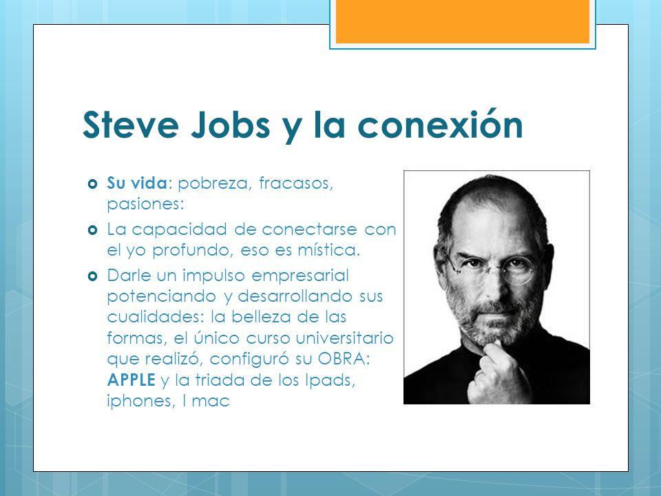 Steve Jobs y la conexión