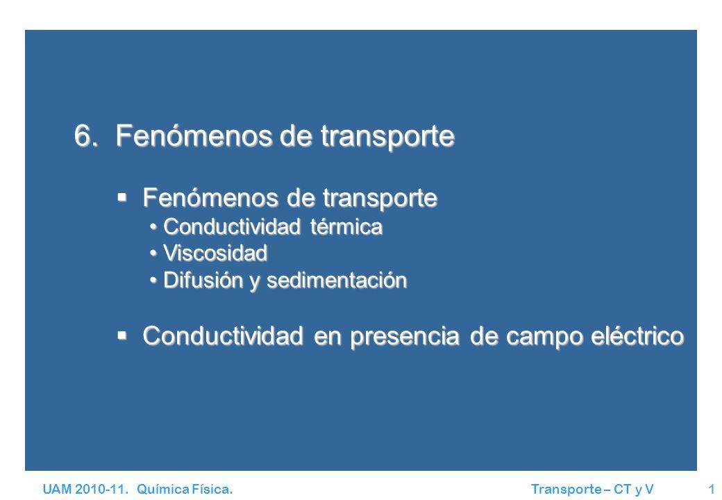 6. Fenómenos de transporte