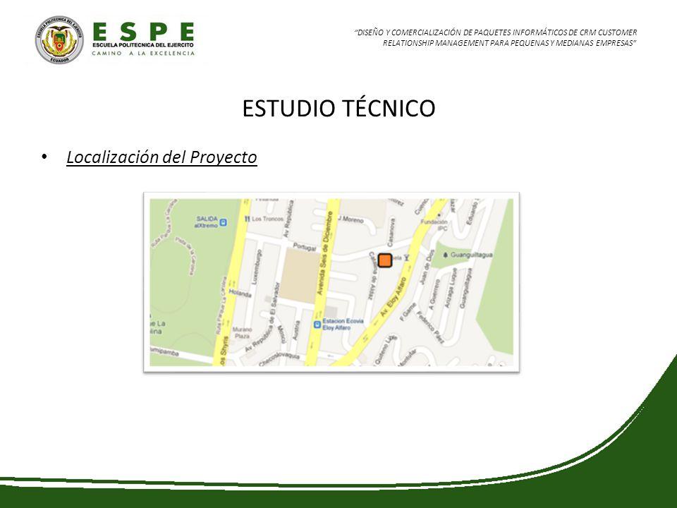 ESTUDIO TÉCNICO Localización del Proyecto