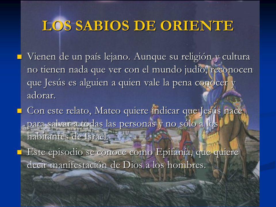 LOS SABIOS DE ORIENTE