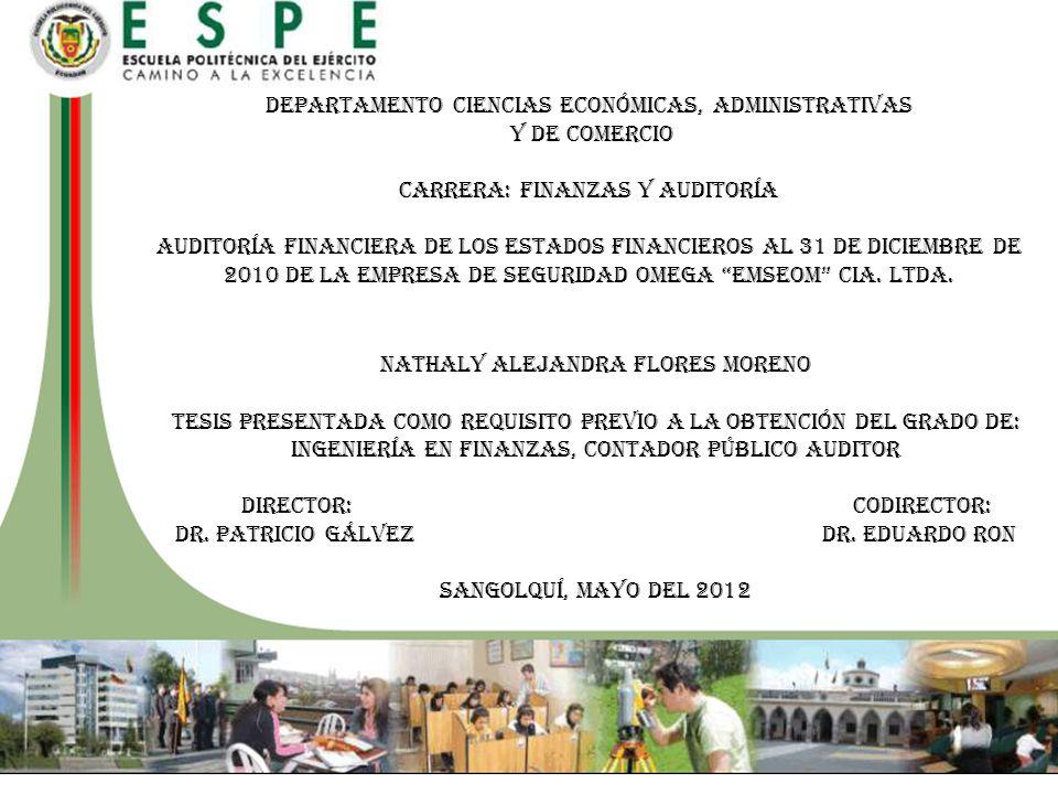 Departamento Ciencias Económicas, Administrativas Y De Comercio