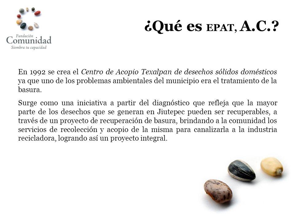 ¿Qué es EPAT, A.C.