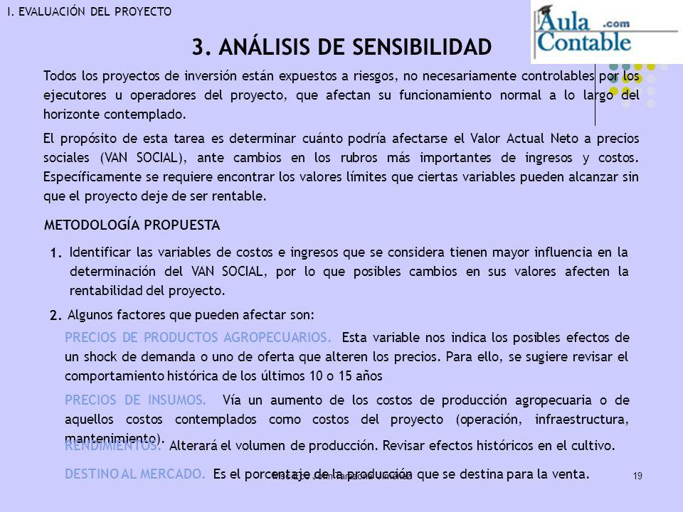 3. ANÁLISIS DE SENSIBILIDAD