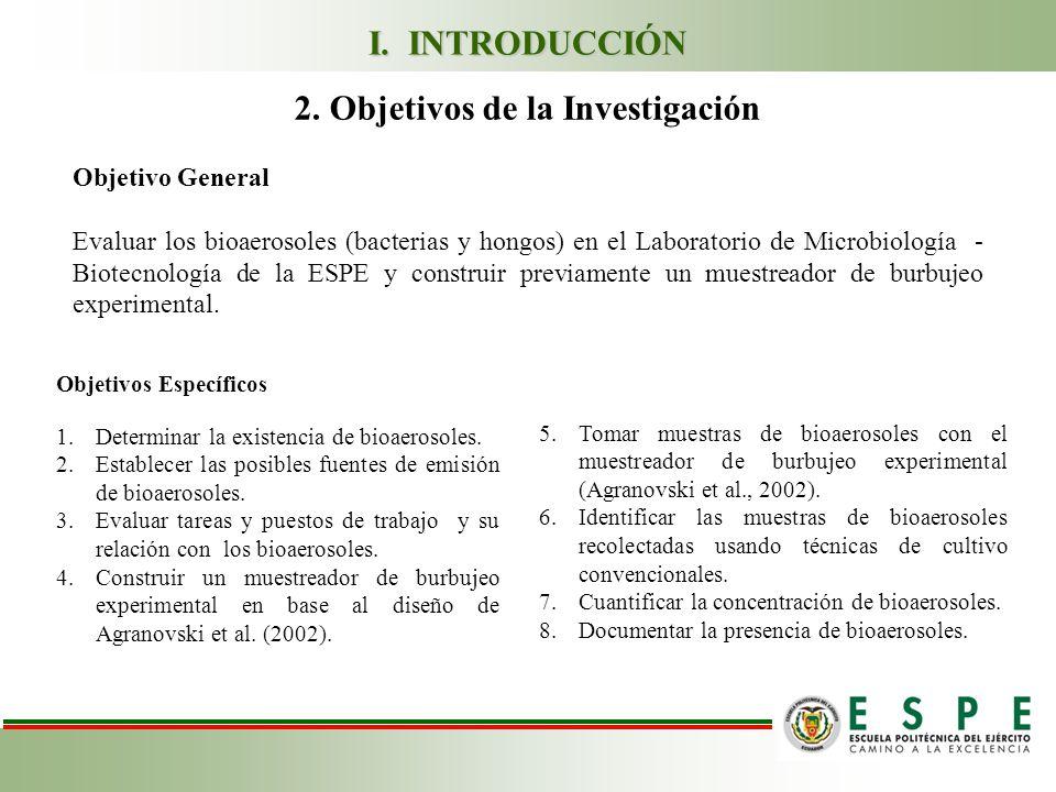 2. Objetivos de la Investigación