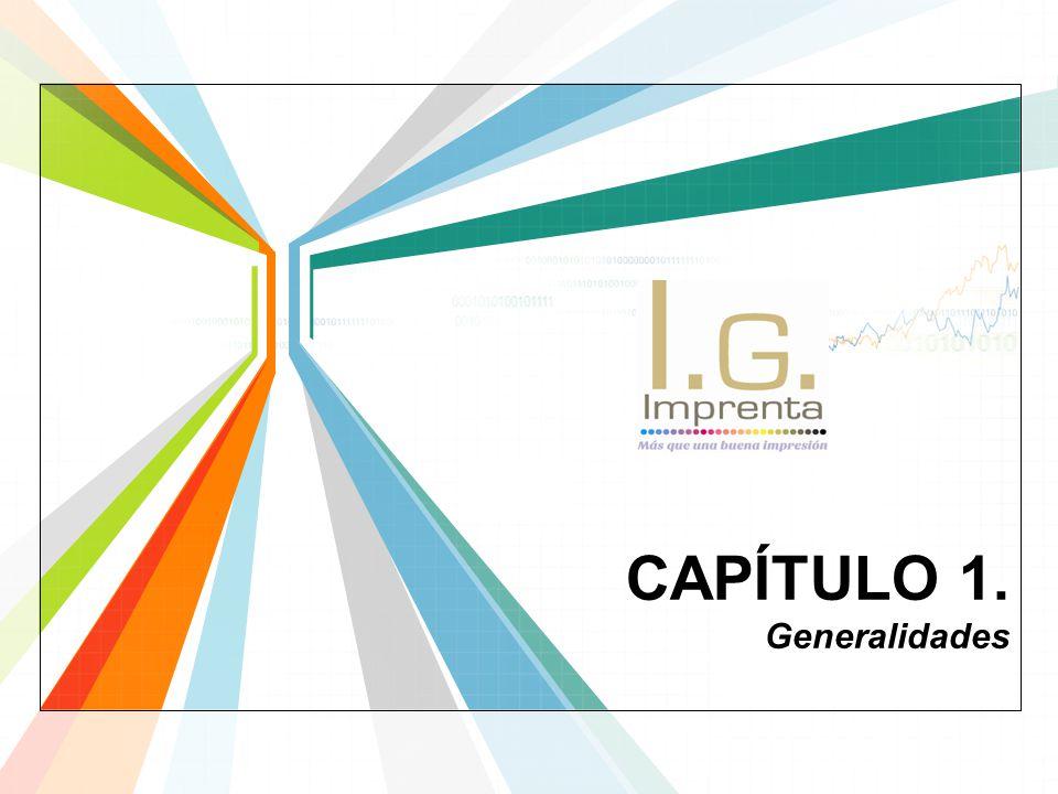 CAPÍTULO 1. Generalidades