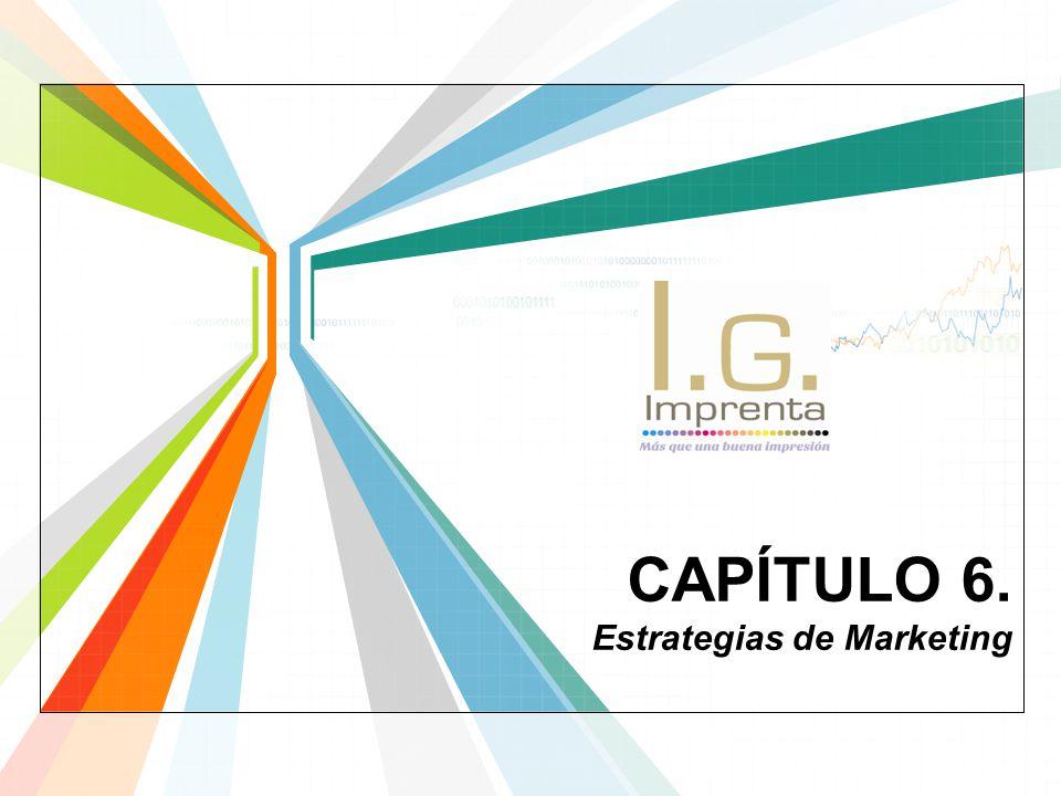 CAPÍTULO 6. Estrategias de Marketing