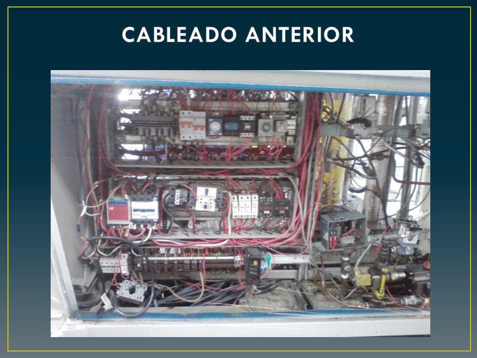CABLEADO ANTERIOR