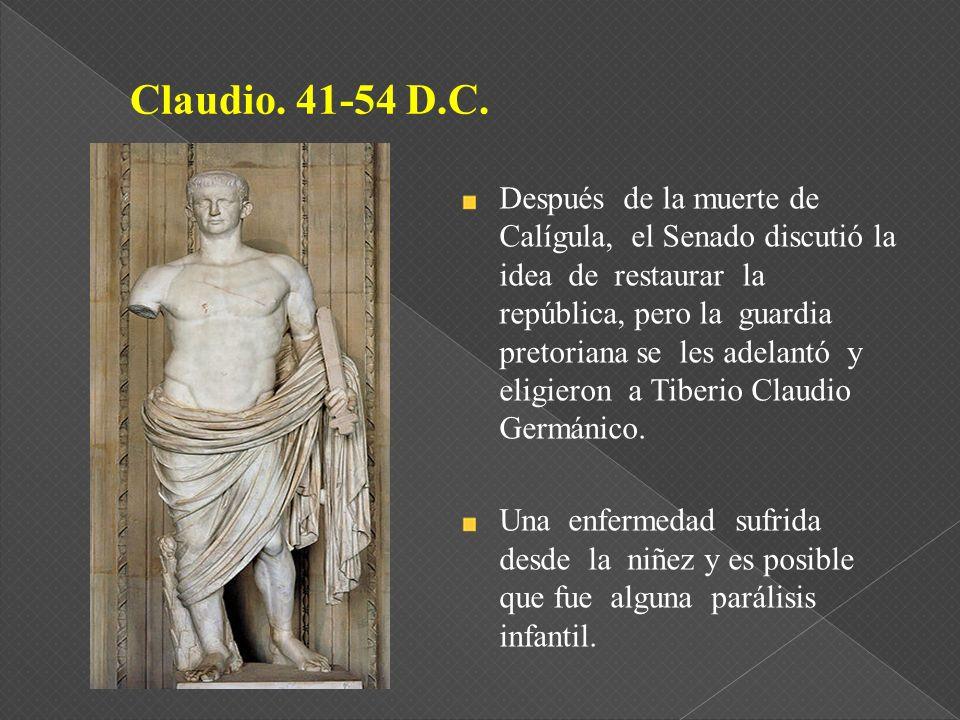 Claudio. 41-54 D.C.