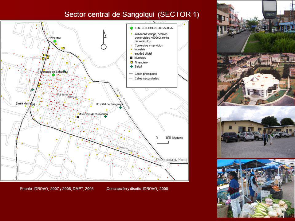 Sector central de Sangolquí (SECTOR 1)
