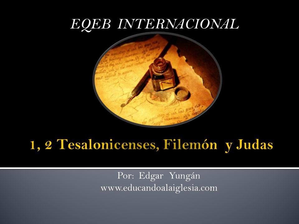 1, 2 Tesalonicenses, Filemón y Judas