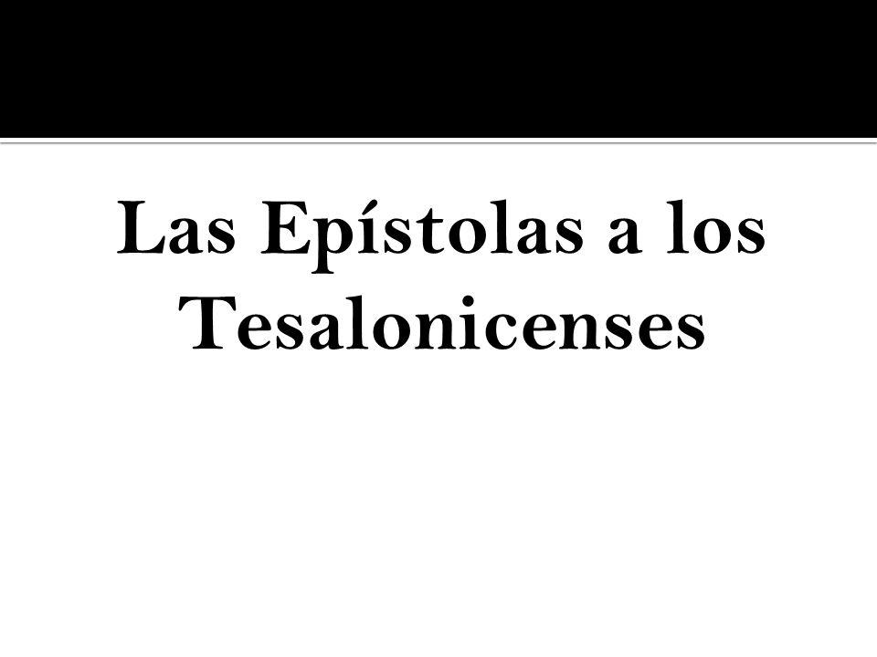 Las Epístolas a los Tesalonicenses