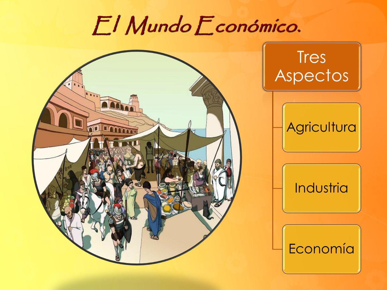 El Mundo Económico. Tres Aspectos Agricultura Industria Economía