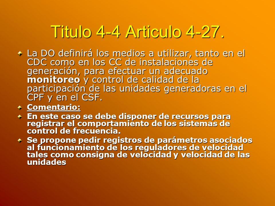 Titulo 4-4 Articulo 4-27.
