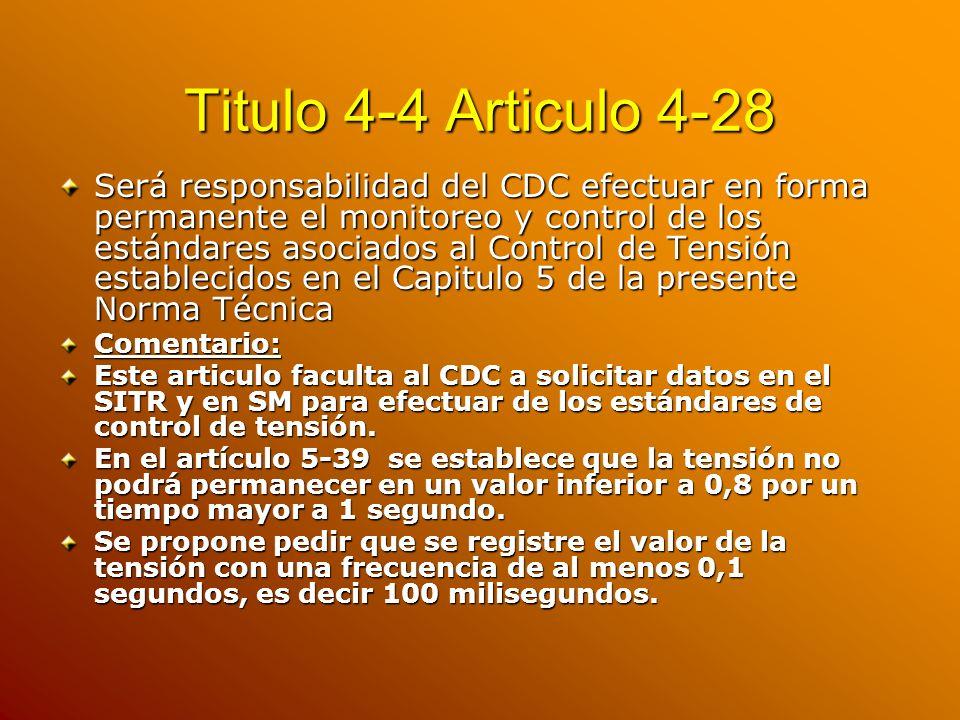 Titulo 4-4 Articulo 4-28