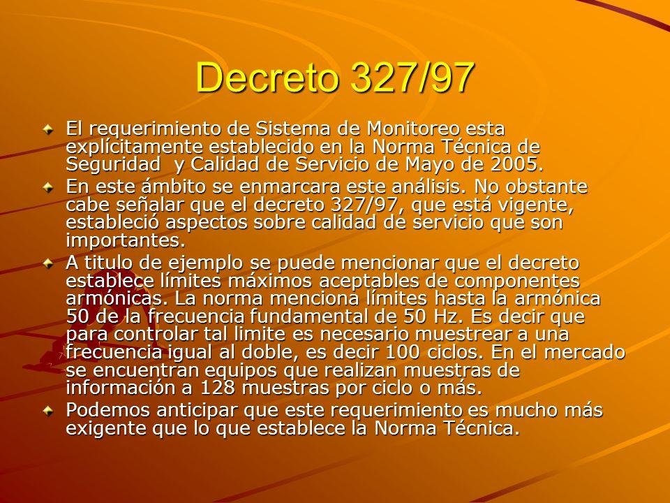 Decreto 327/97