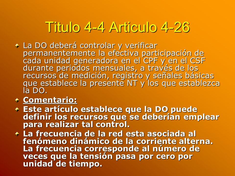 Titulo 4-4 Articulo 4-26