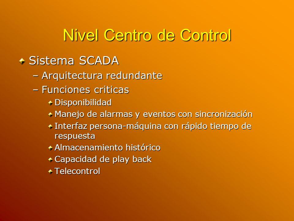 Nivel Centro de Control