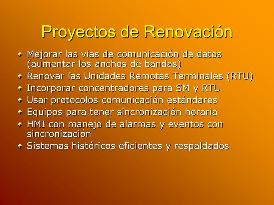 Proyectos de Renovación