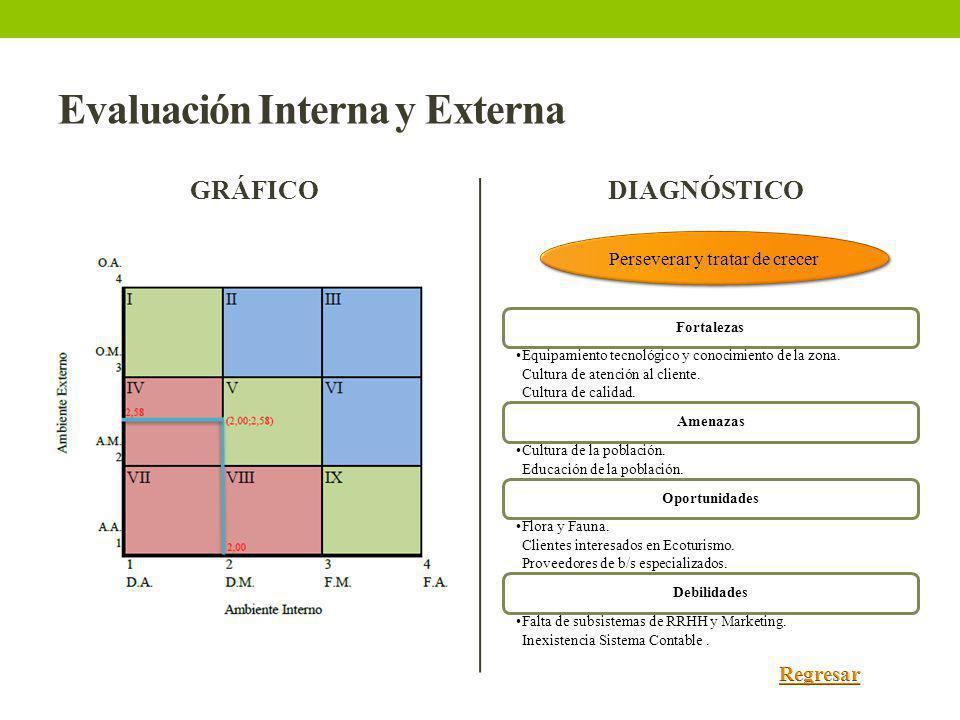 Evaluación Interna y Externa