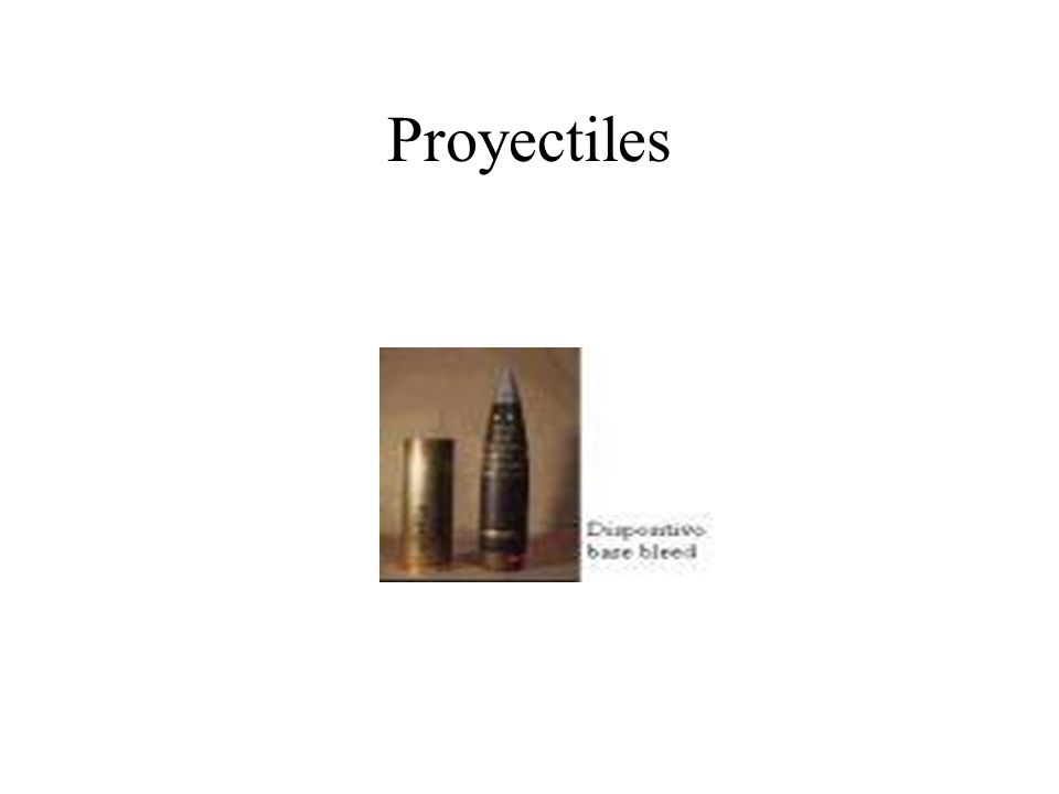 Proyectiles