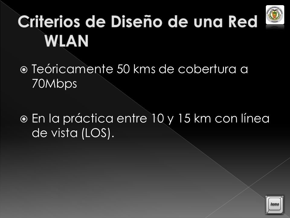 Criterios de Diseño de una Red WLAN