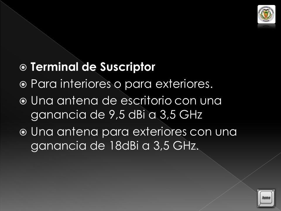 Terminal de Suscriptor