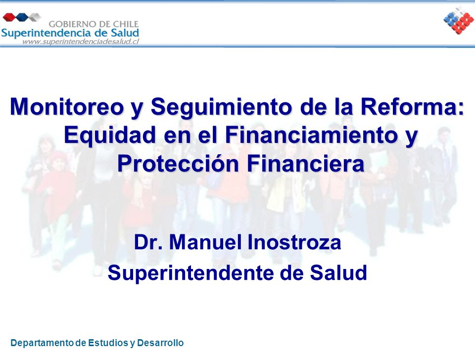Dr. Manuel Inostroza Superintendente de Salud