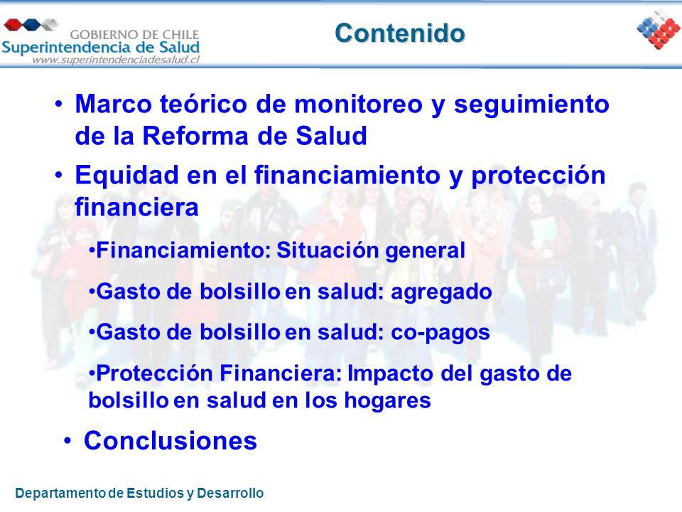 Marco teórico de monitoreo y seguimiento de la Reforma de Salud