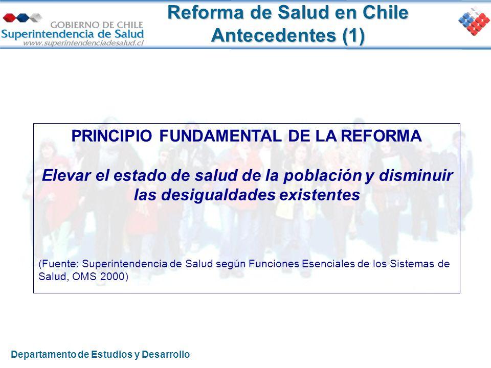 Reforma de Salud en Chile Antecedentes (1)
