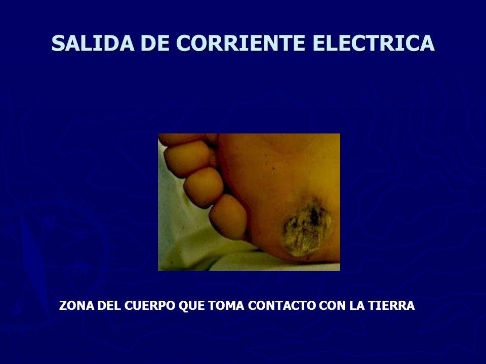 SALIDA DE CORRIENTE ELECTRICA
