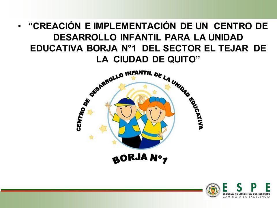 CENTRO DE DESARROLLO INFANTIL DE LA UNIDAD EDUCATIVA