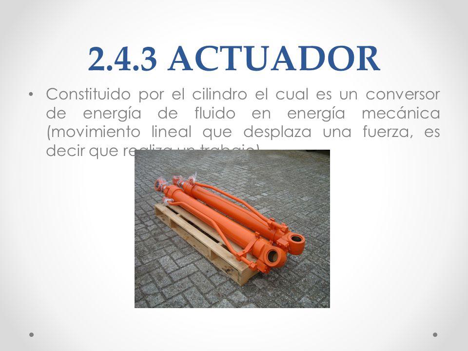 2.4.3 ACTUADOR