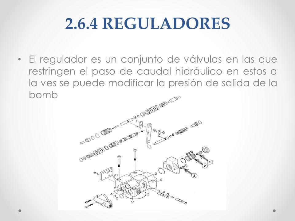 2.6.4 REGULADORES