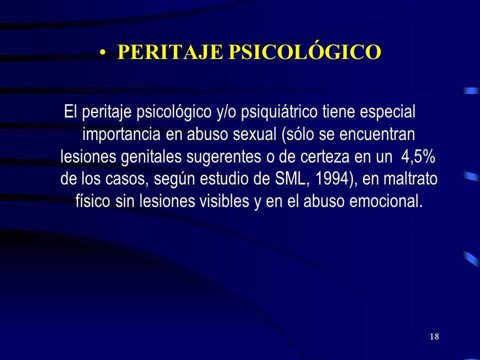 PERITAJE PSICOLÓGICO