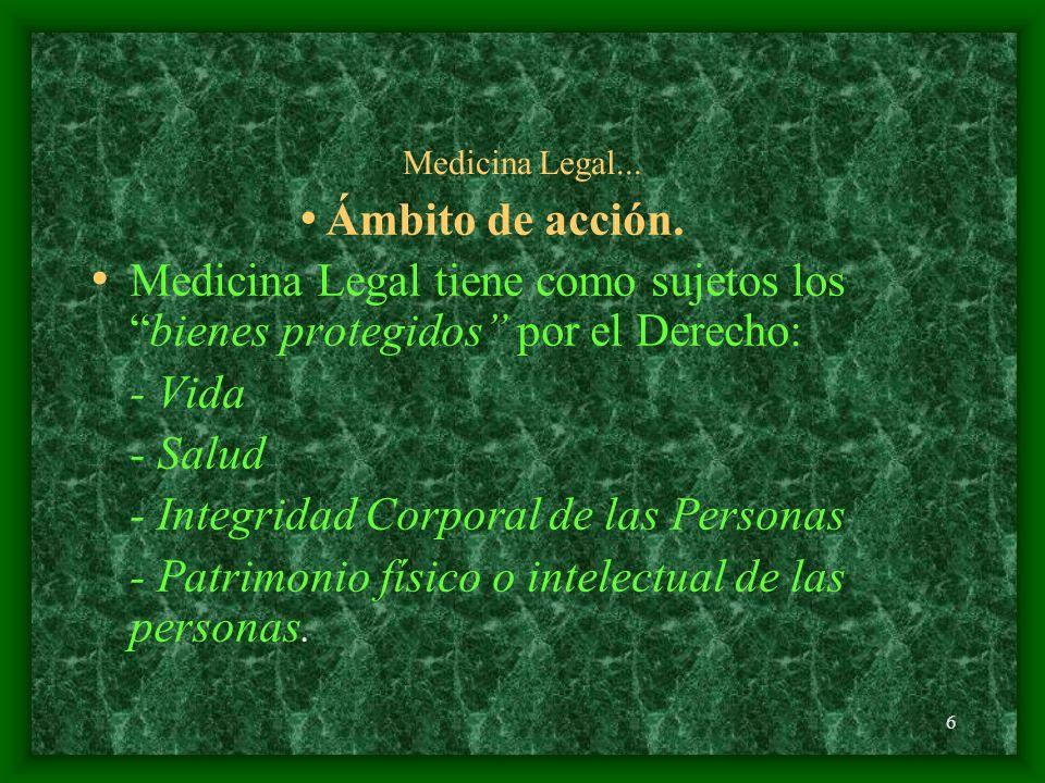 - Integridad Corporal de las Personas