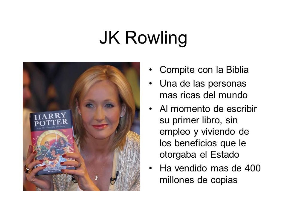 JK Rowling Compite con la Biblia