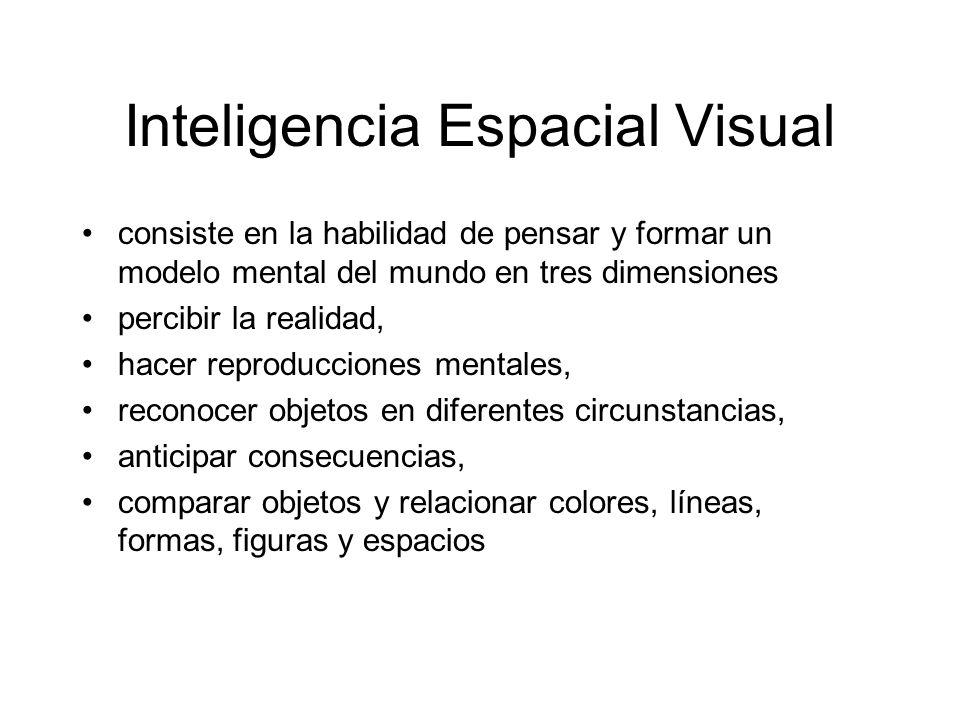 Inteligencia Espacial Visual